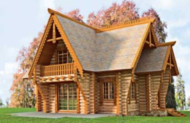 деревянные дома их бревна