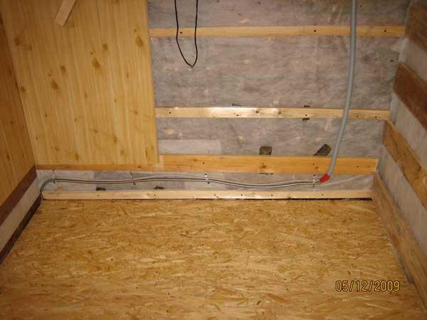 Реконструкция, строительство загородного дома: электрика - з.