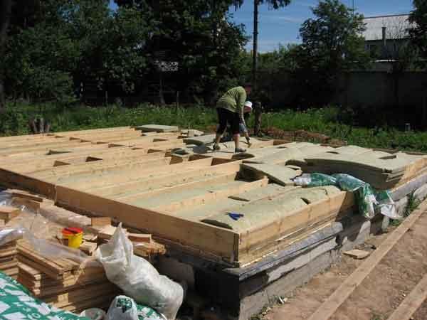 Этапы строительства НДстрой