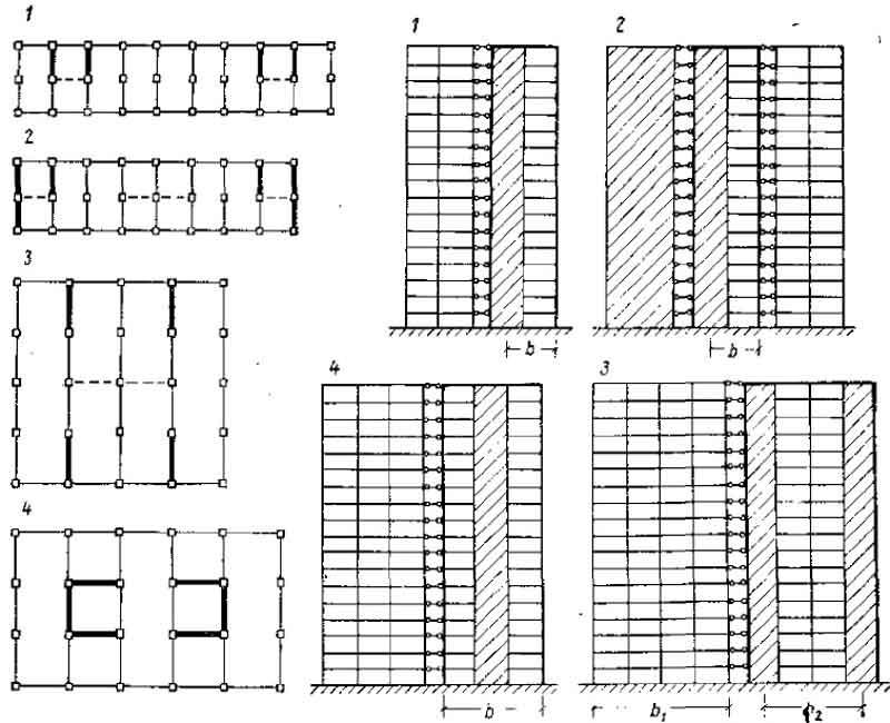каркасно-панельных зданий