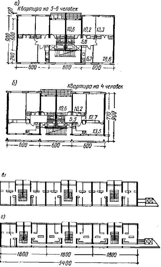 секционно-галерейный дом