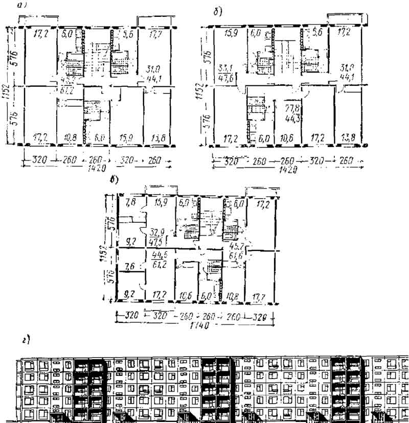 Перепланировка 3-х комнатной квартиры в 4-х комнатную