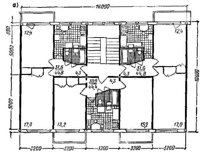8. крупнопанельные дома серии лг-502 - проектирование зданий.