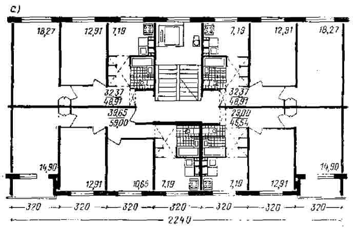 3. дома повышенной этажности из вибропрокатных панелей: общи.