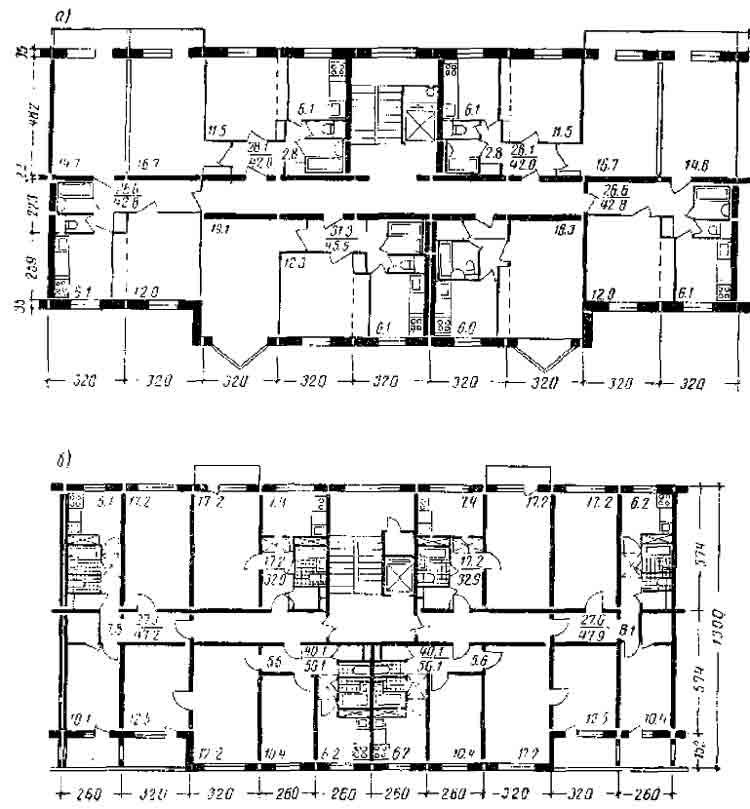 Крупнопанельные 9-этажные дома