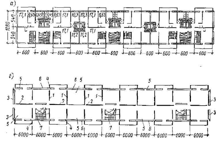 крупнопанельный дом: план
