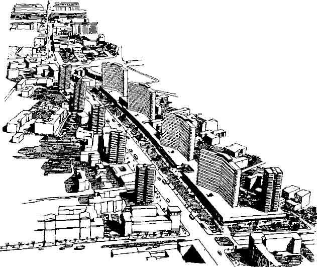 Проспект Калинина. Проект