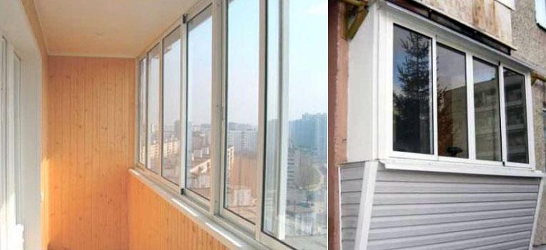 Основные способы остекления балкона и лоджии - полезная инфо.