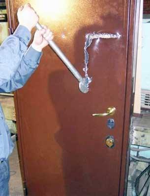 Вскрытие дверей без взлома