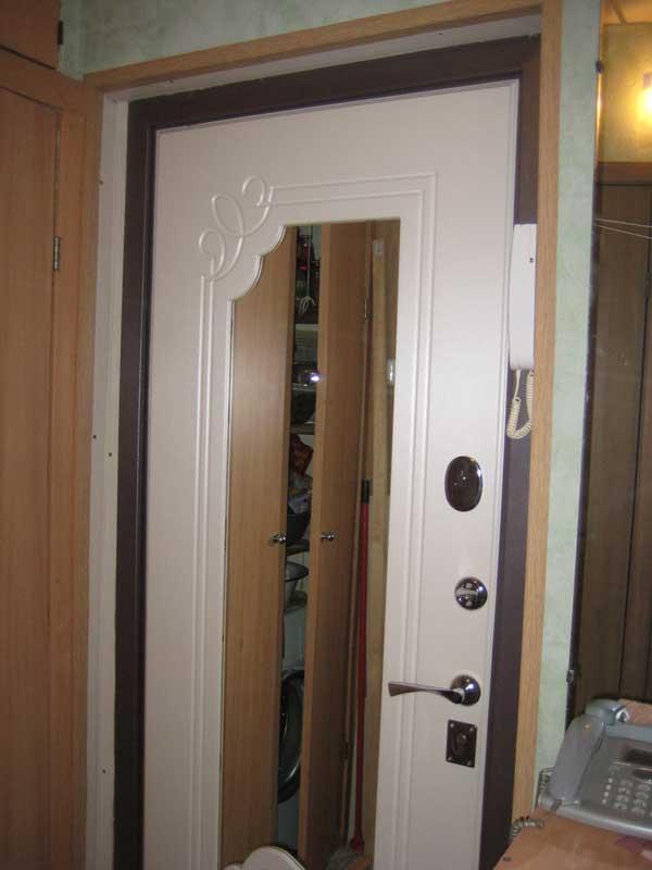 Фотоотчёт по монтажу входной двери: результаты