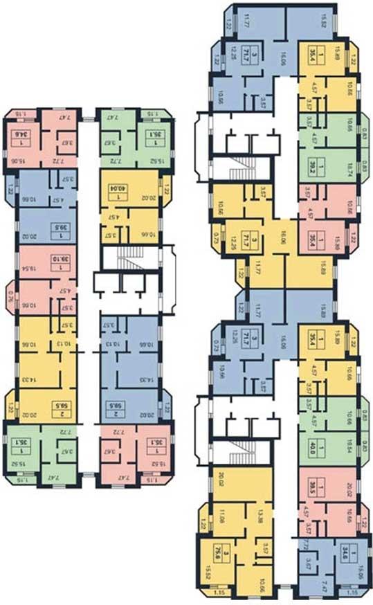 панельного дома 137 серии