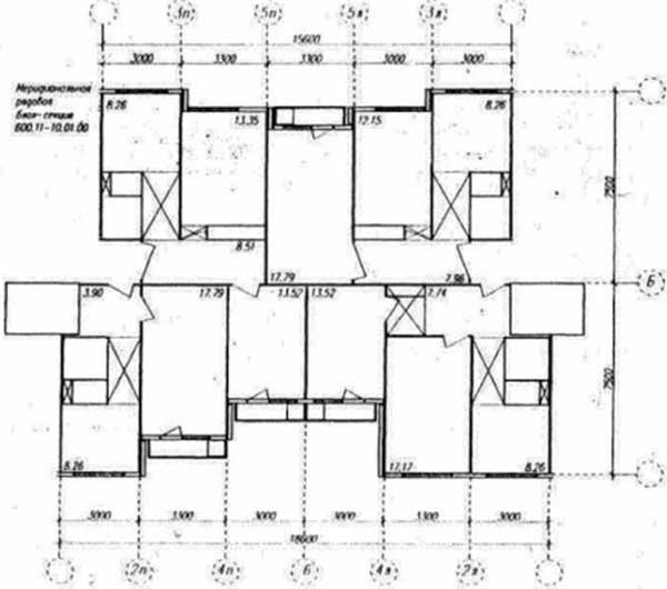 Брежневки: панельные жилые дома серии 1-лг-600-i.