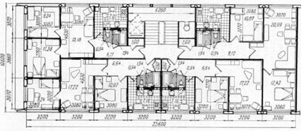 планировка панельного дома