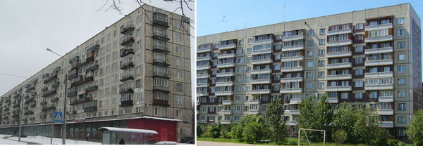Типы домов в Санкт-Петербурге: панельные дома серии 606 - Новости ...