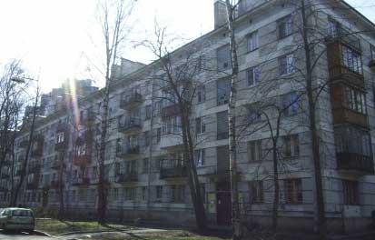Типы домов в санкт-петербурге: кирпично-блочные дома серии 1.