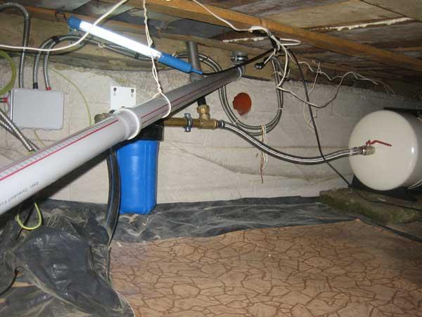 Как правильно сделать подводку воды к дому