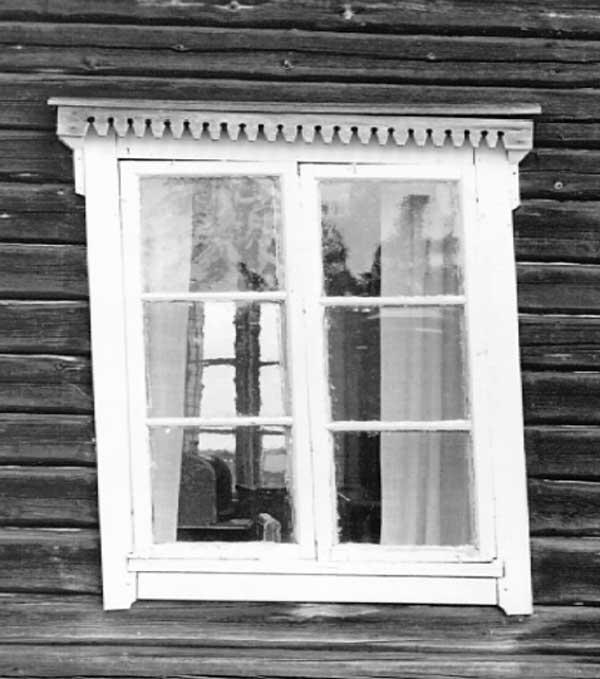перексо бревенчатого дома