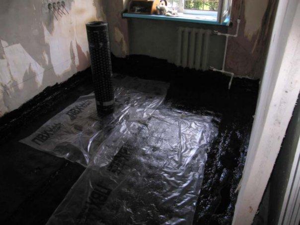 Бетонный пол в кухне своими руками фото 571