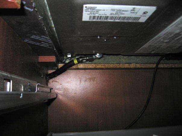 Духовой шкаф с газовой плитой