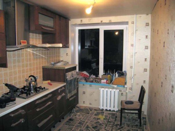 кухня ремонт фото своими руками