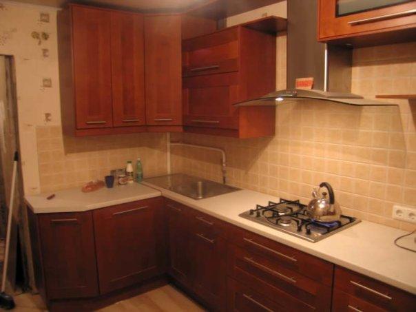 мебель на кухне обзор