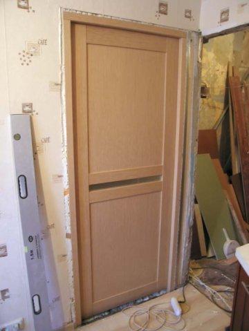 Замена двери в квартире своими руками