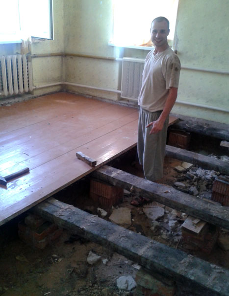 Oprava podlahovej práce